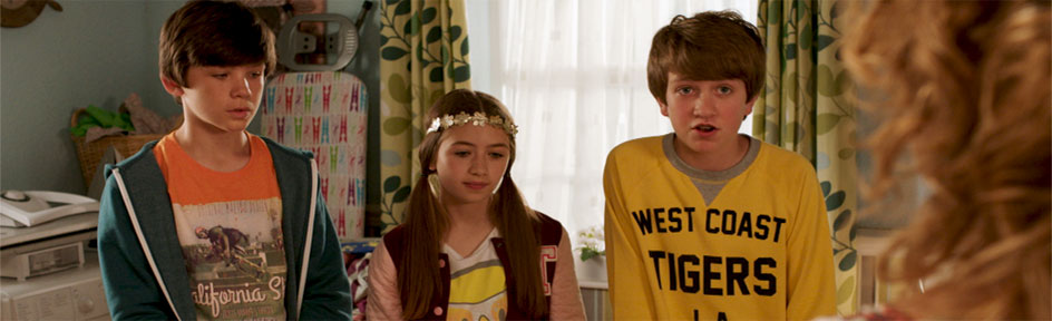 Charlie, Ben and Alison are in trouble with Mum.