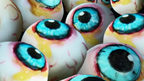 Jelly worms and edible eyeballs