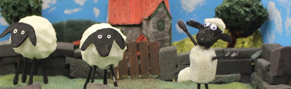 Shaun the sheep farmyard