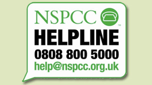 NSPCC logo.