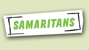 Samaritans logo.
