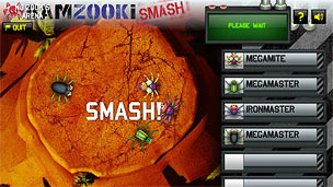 A screen from BAMZOOKi Smash