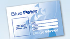 The Blue Peter Badge Card