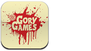 The Gory Games logo.