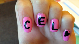 Cel with spelling send-ins