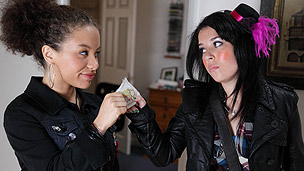 Sapphire getting some money off Tracy.