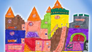 A castle design.