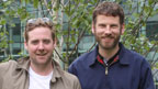 Ricky and Simon from Kaiser Chiefs.