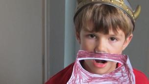 Leo as a Viking