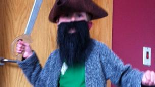 Ruben as Blackbeard
