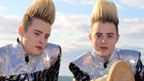 Jedward at the beach.