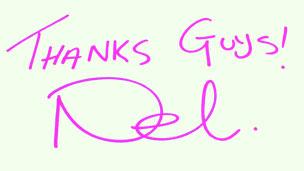 Nel's signature.