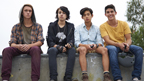 Sam, Jake, Andy and Felix from Nowhere Boys