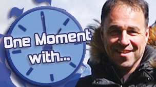 Anthony Horowitz and the One Moment With... logo