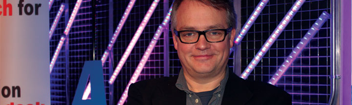 Charlie Higson and the One Moment With... logo