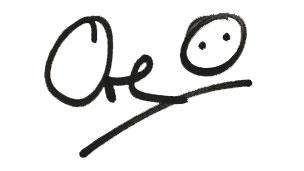 Ore's signature.