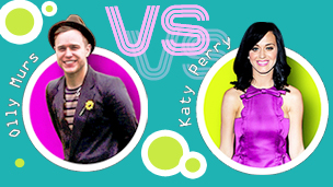 Olly Murs Vs Katy Perry.