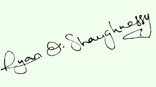 Ryan's signature.
