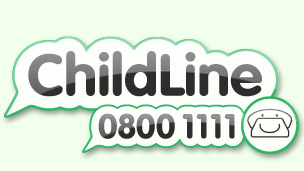 Childline logo.