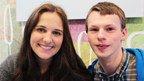 Chris Slater and Jessica Revell from The Dumping Ground