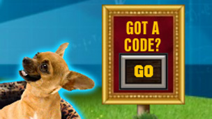 The Barkmania code sign-post