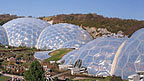 The two Eden Project biomes.