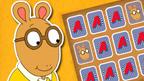 Arthur, the Arthur Pairs Game logo and D.W.