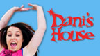 Dani with her arms in the air and Dani's House logo.