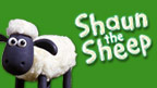 Shaun with Shaun the Sheep logo.