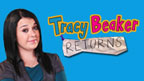Tracy beaker and Tracy Beaker logo