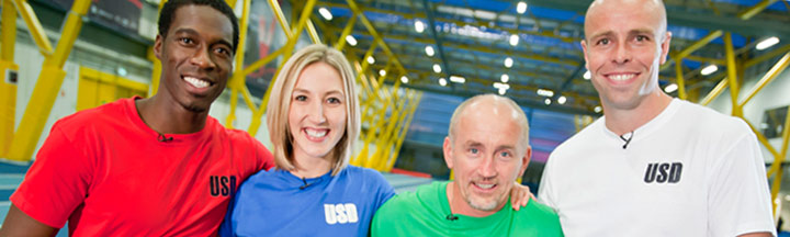 Dean Macey, Barry McGuigan, Sinead Kerr and Christian Malcolm.