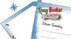 Tracy Beaker themed Christmas letter.