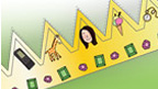 Tracy Beaker Princess Crown.