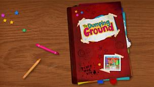 The Dumping Ground logo.