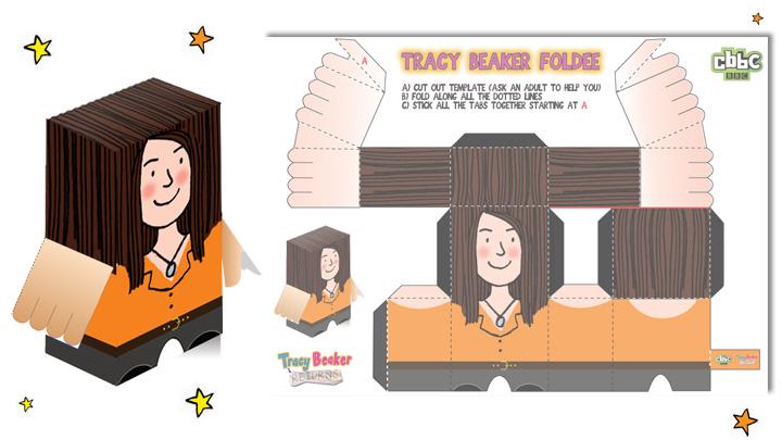 Tracy Beaker Returns Foldee.