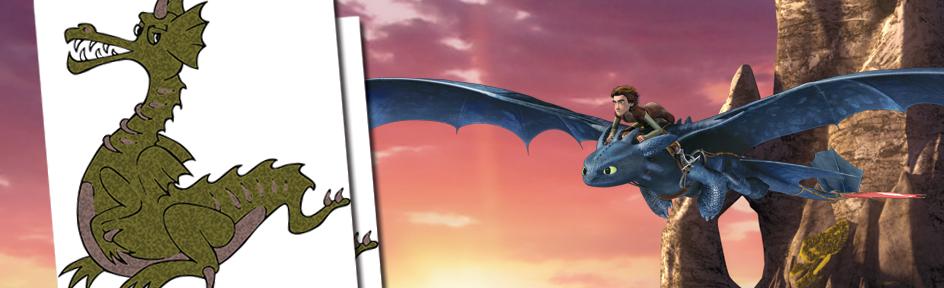 Dragon illustrations