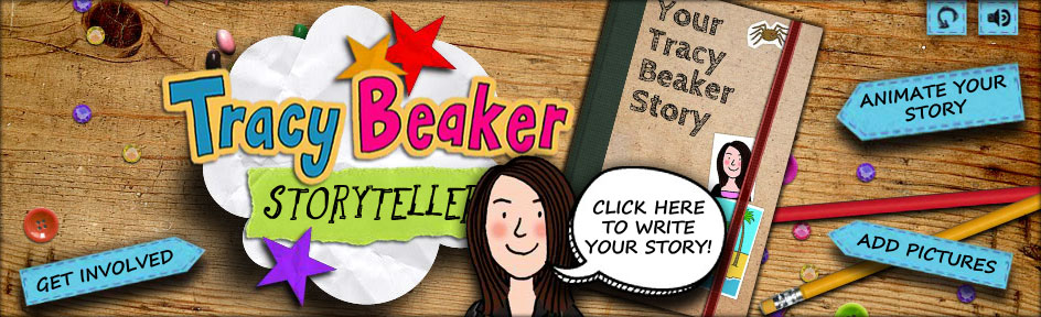 The Tracy Beaker Returns Your Tracy Beaker Story book on a desk
