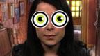 Tracy Beaker staring
