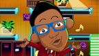 A cartoon version of Josh from the 4 O'Clock Club.
