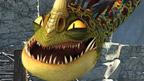 Hookfang, Barf & Belch from Dragons - Riders of Berk.