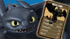 Toothless and his battle card