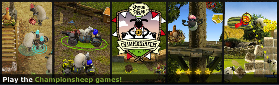 A selection of the new Championsheeps games.