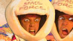 Diddy Dick and Dom in space suits.