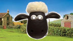 Shaun the Sheep mask.