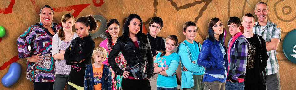 The whole of the Tracy Beaker Returns cast