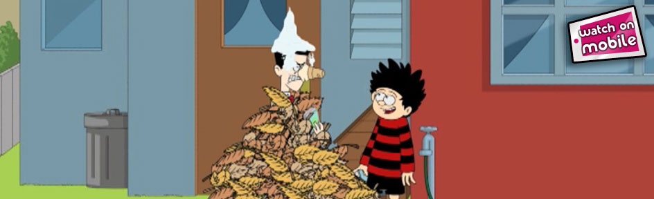 Dennis the Menace and Walter.