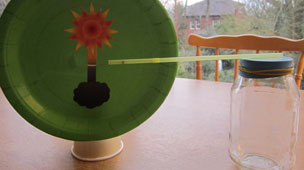 Finished barometer