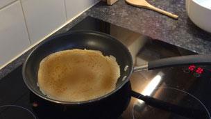 Cooked pancake