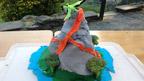 Volcano creative make