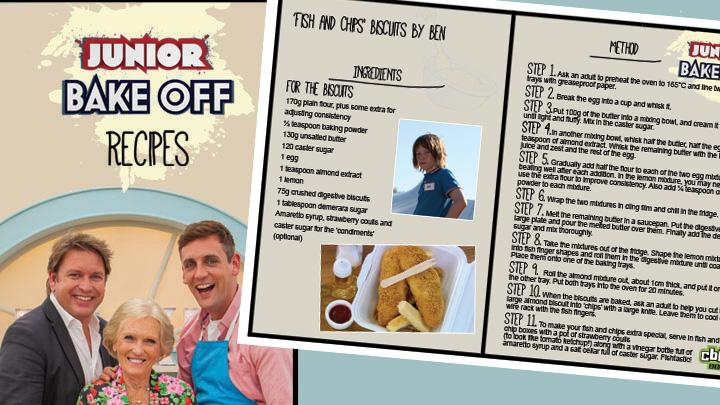 Junior bake off recipe
